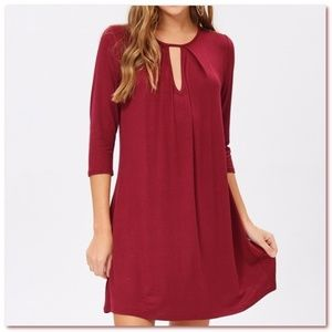 NWT Keyhole Shift Dress❣️